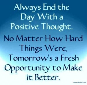 Tomorrow is a fresh opportunity quote via Carol's Country Sunshine on ...