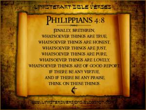 Verse in Context - Listen to Philippians 4