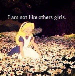 AM NOT LIKE OTHERS GIRLS | via Facebook
