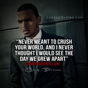 sayings chris brown quotes and sayings chris brown sayings quotes ...