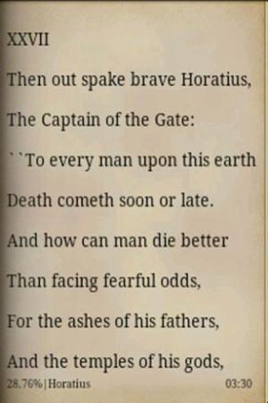 Horatius, Lays of Ancient Rome Screenshot 2