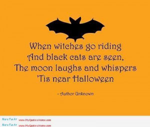 Very Dark Quotes | When witches riding and black cats are seen, Moon ...