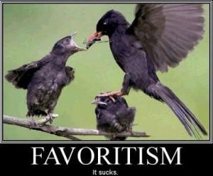 Parental Favoritism Quotes
