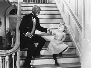 Shirley Temple dancing with Bill