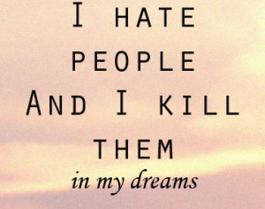 dreams, hate, kill, people, pink, quotes, sky