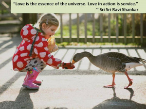 ... love in action is service let my hands be of service to people