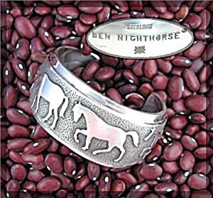 BEN NIGHTHORSE CAMPBELL Sterling Silver Bracelet Image1