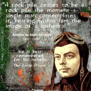 Antoine de Saint-Exupery Quote