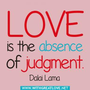 Dalai Lama Quotes Love