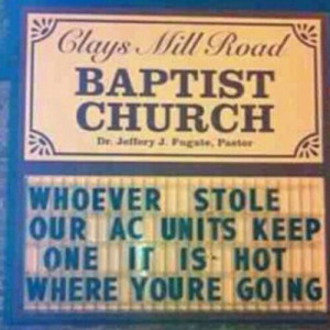 Church people got jokes Funny Quote Image