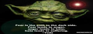 Yoda Quote Facebook Cover