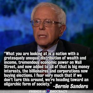Bernie Sanders: The Billionaires May Just Win