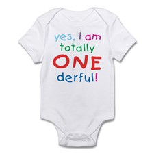 Onederful 1st Birthday First Infant Creeper for