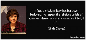 , the U.S. military has bent over backwards to respect the religious ...