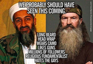 Are you glad that Duck Dynasty is crumbling?