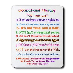 Occupational Therapy Funny