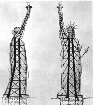 1832: Gustave Eiffel, Engineer of the Statue of Liberty, born.