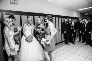 Wedding photos. High school sweethearts.