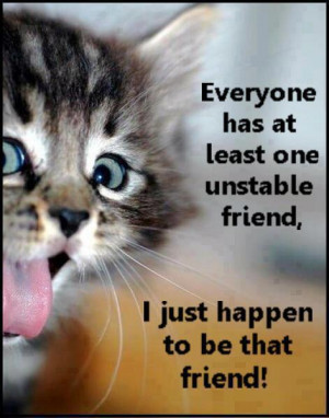 ... Animals , Funny Pictures // Tags: Funny cat cute quote // May, 2013