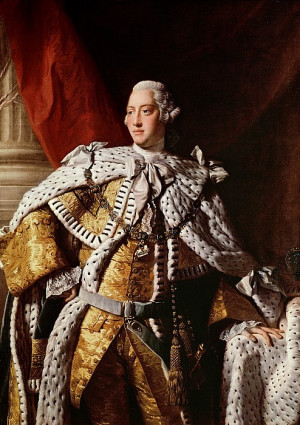"""The English king who """"lost the American colonies"""" is also the king ..."""