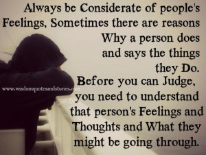 ... thoughts and what they are going through | Wisdom Quotes and Stories