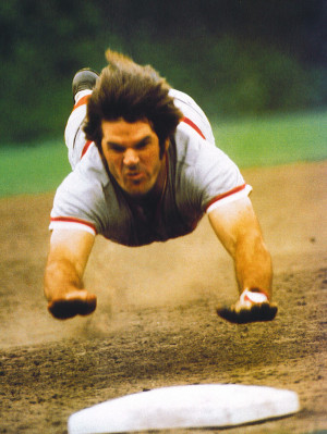 "... out Whitey Ford gave Pete Rose his ""Charlie Hustle"" nickname"