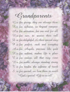 grandparents day poems my grandparents poems about the first ...