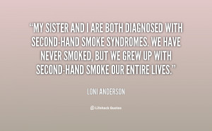 Quotes About Second Hand Smoke