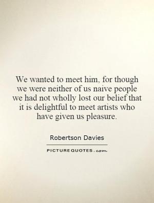 Naive Quotes