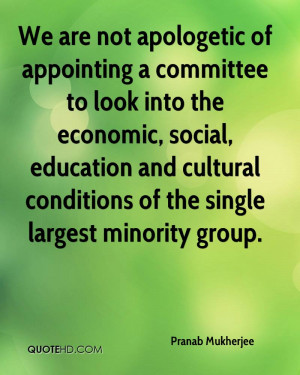 We are not apologetic of appointing a committee to look into the ...