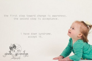 Down Syndrome Inspirational Quotes | Down Syndrome Motivational Photo