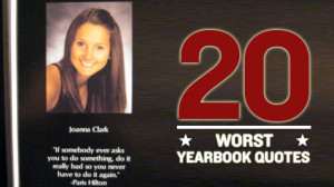 ah the classic high school yearbook quote an opportunity for ...
