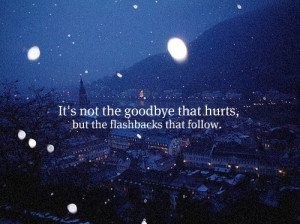flashback, goodbye, photography, quotes, snow