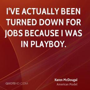 Karen McDougal Quotes