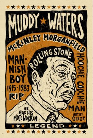 blues legend Muddy waters