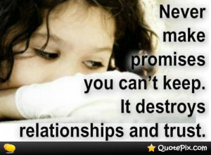 Go Back > Gallery For > Broken Promises Quotes And Sayings