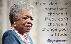 Maya Angelou xx