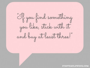 More fashion tips and cute quotes (here) !