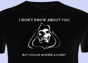 DEATH TSHIRT Terry Pratchett inspired T Shirt Funny Death Quotes ...
