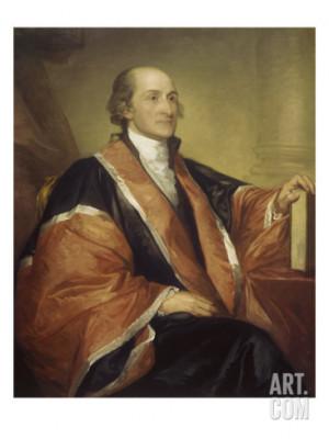 Chief Justice John Jay Giclee Print