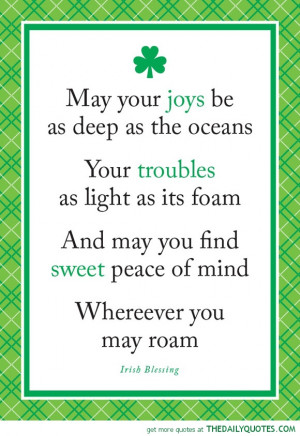 St. Patrick's Day Quotes (Click For Full Post)
