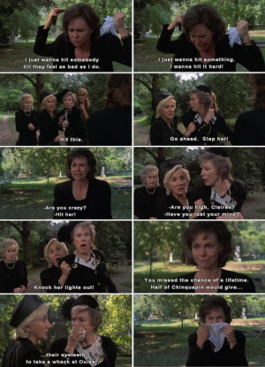 Steel Magnolias- one of the best films ever made. Favorite movie scene ...