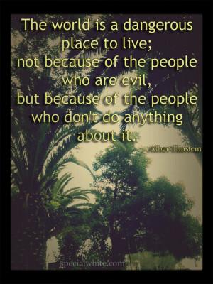 Dangerous Place quote #2