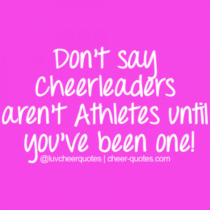 cheerleading quotes competition