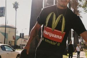 funny, guy, hot, marijuana, tshirt