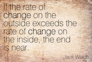 or change without learning learning change meetville quotes