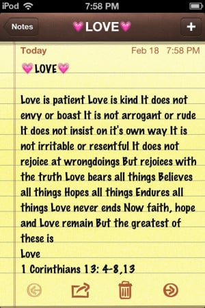 This is LOVE - 1 Corinthians 13 - A Godly Relationship