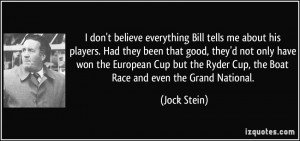 More Jock Stein Quotes