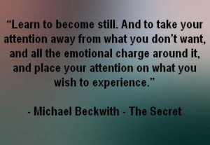 The Secret Quotes - Michael Beckwith