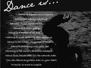 dance is an aftermath of music music encourages dance a behavior that ...